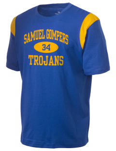 Samuel Gompers High School Trojans Holloway Men's Rush T-Shirt