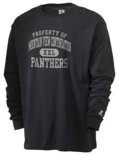 Mountain View Continuation High School Panthers  Russell Men's Long Sleeve T-Shirt