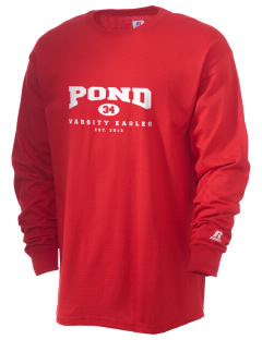 Pond Elementary School Eagles  Russell Men's Long Sleeve T-Shirt