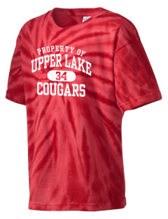 Upper Lake High School Cougars Kid's Tie-Dye T-Shirt