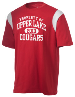 Upper Lake High School Cougars Holloway Men's Rush T-Shirt