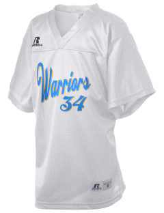First Lutheran School Warriors Russell Kid's Replica Football Jersey