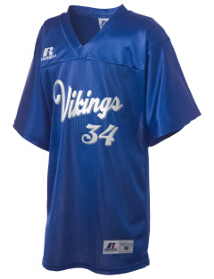 Vineland Elementary School Vikings Russell Kid's Replica Football Jersey