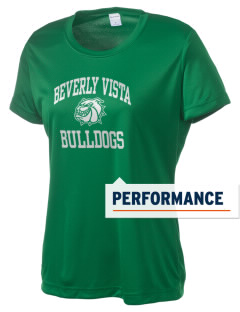 Beverly Vista Elementary School Bulldogs Women's Competitor Performance T-Shirt