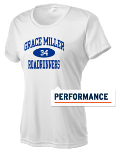 Grace Miller Elementary School Roadrunners Women's Competitor Performance T-Shirt