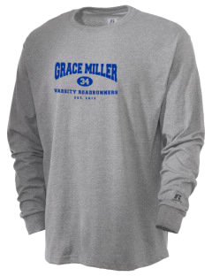 Grace Miller Elementary School Roadrunners  Russell Men's Long Sleeve T-Shirt