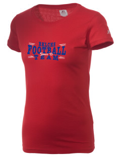 R K Lloyde Continuation High School Panthers  Russell Women's Campus T-Shirt