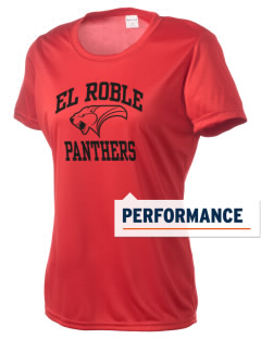El Roble Intermediate School Panthers Women's Competitor Performance T-Shirt
