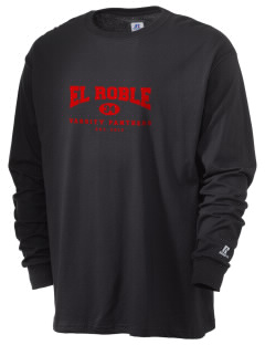 El Roble Intermediate School Panthers  Russell Men's Long Sleeve T-Shirt