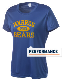 Warren High School Bears Women's Competitor Performance T-Shirt