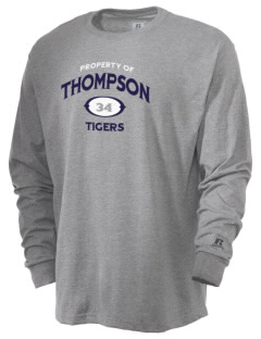 Thompson Elementary School Tigers  Russell Men's Long Sleeve T-Shirt