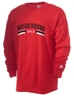 Theodore Roosevelt Middle School Rough Riders  Russell Men's Long Sleeve T-Shirt