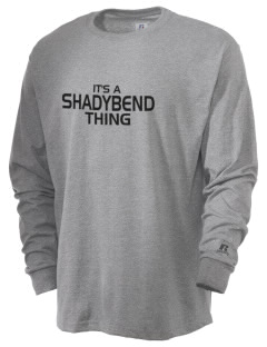 Shadybend Elementary School Panthers  Russell Men's Long Sleeve T-Shirt