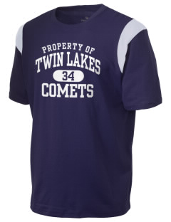 Twin Lakes Elementary School Comets Holloway Men's Rush T-Shirt
