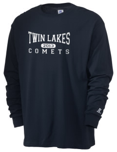 Twin Lakes Elementary School Comets  Russell Men's Long Sleeve T-Shirt