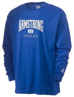 Armstrong Elementary School Eagles  Russell Men's Long Sleeve T-Shirt
