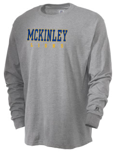 McKinley Elementary School Lions  Russell Men's Long Sleeve T-Shirt