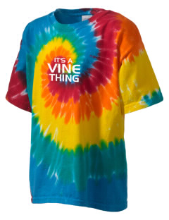 Vine Elementary School Valiants Kid's Tie-Dye T-Shirt