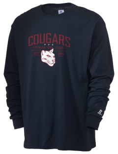 Coronado Continuation High School Cougars  Russell Men's Long Sleeve T-Shirt