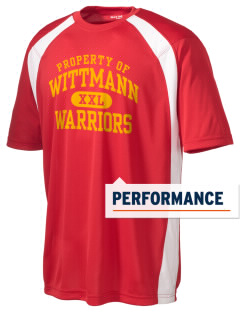 Wittmann Elementary School Warriors Men's Dry Zone Colorblock T-Shirt