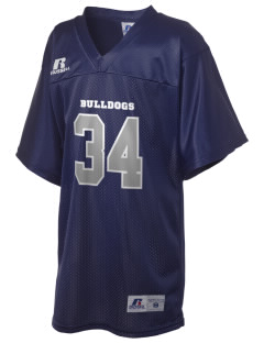 Middleton Street Elementary School Bulldogs Russell Kid's Replica Football Jersey