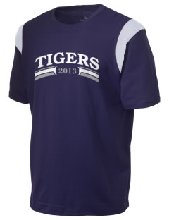 Teresa Hughes Elementary School Tigers Holloway Men's Rush T-Shirt