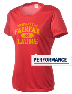 Fairfax High School Lions Women's Competitor Performance T-Shirt