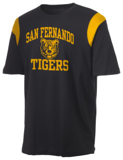 San Fernando High School Tigers Holloway Men's Rush T-Shirt