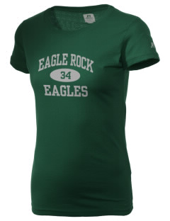 Eagle Rock High School Eagles  Russell Women's Campus T-Shirt