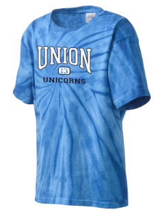 Union Elementary School Unicorns Kid's Tie-Dye T-Shirt