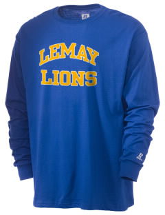 Lemay Elementary School Lions  Russell Men's Long Sleeve T-Shirt
