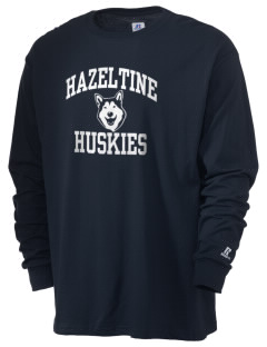 Hazeltine Elementary School Huskies  Russell Men's Long Sleeve T-Shirt