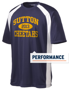 Sutton Elementary School Cheetahs Men's Dry Zone Colorblock T-Shirt