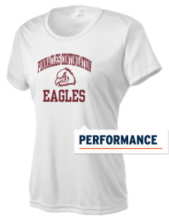 Pinnacles Continuation High School Eagles Women's Competitor Performance T-Shirt