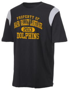 Napa Valley Language Center Dolphins Holloway Men's Rush T-Shirt