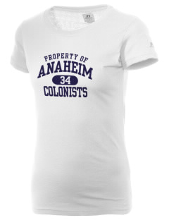 Anaheim High School Colonists  Russell Women's Campus T-Shirt