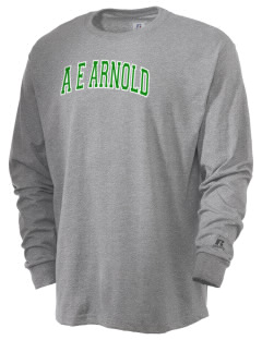 A E Arnold Elementary School Lions  Russell Men's Long Sleeve T-Shirt