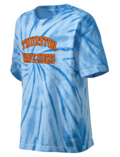 Thurston Middle School Seagulls Kid's Tie-Dye T-Shirt