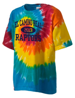 El Camino Real High School Conquistodores Kid's Tie-Dye T-Shirt
