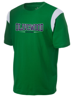 Olivewood Elementary School Mustang Holloway Men's Rush T-Shirt