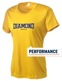 Diamond Elementary School Eagles Women's Competitor Performance T-Shirt