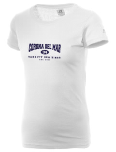 Corona Del Mar High School Sea Kings  Russell Women's Campus T-Shirt