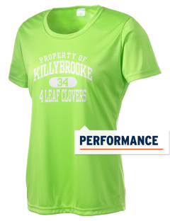 Killybrooke Elementary School 4 Leaf Clovers Women's Competitor Performance T-Shirt