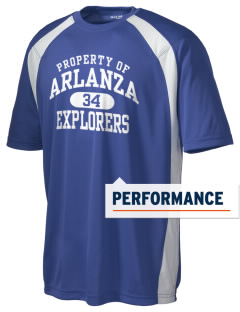 Arlanza Elementary School Explorers Men's Dry Zone Colorblock T-Shirt