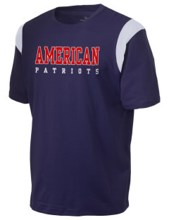 American High School Patriots Holloway Men's Rush T-Shirt