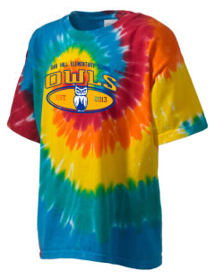 Oak Hill Elementary School Owls Kid's Tie-Dye T-Shirt