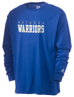 Waiakea High School Warriors  Russell Men's Long Sleeve T-Shirt