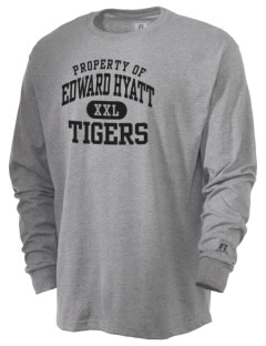 Edward Hyatt Elementary School Tigers  Russell Men's Long Sleeve T-Shirt
