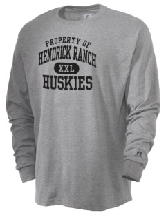 Hendrick Ranch School Huskies  Russell Men's Long Sleeve T-Shirt