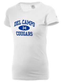 Del Campo High School Cougars  Russell Women's Campus T-Shirt
